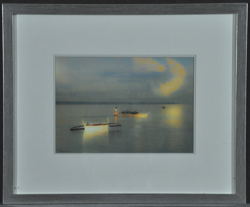Frederick, James ''Morning Glory' Signed Photography  22x17