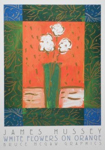 Hussey-J.-White-Flowers-on-Orange-15x12-BSL-0157-Poster-list-22-ours-18-e1449071352380-210x300.jpg