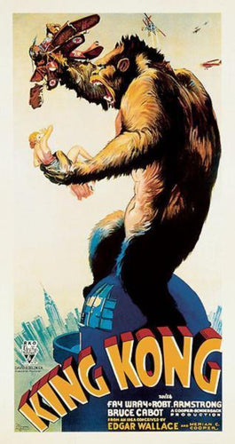 King Kong Large Movie poster Copy of Old Movie event poster