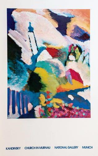 Kandinsky Artist Museum Poster Color Abstract