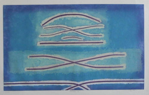 Abstract Spanish-Original-Limited-Edition-Handmade-Etching