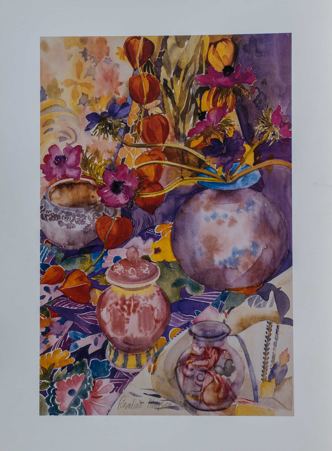 Moysen ''Still Life of flowers'' 18x12