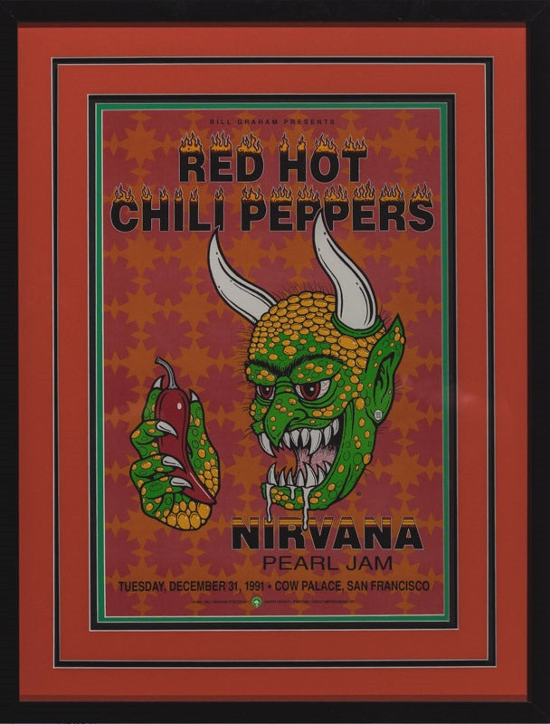 Rossit Harry Red Hot Chili Peppers Nirvana And Pearl Jam