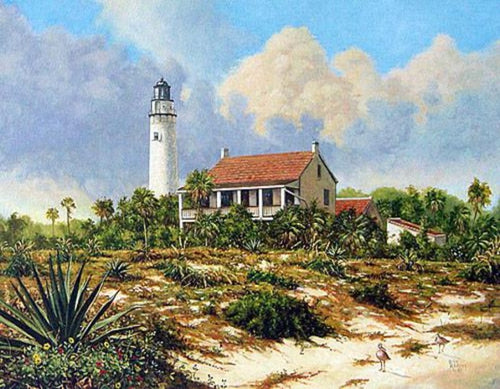 Light House built in 1848 Egmont key