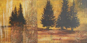 "Thompson, Linda ""Forest Silouettes II"" 18x36 Offset"