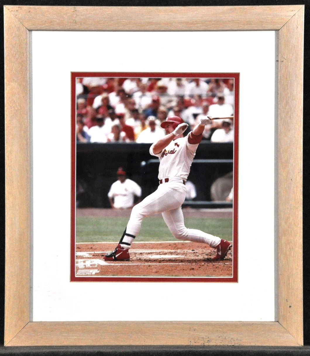 UNK Mark McGuire ''Home run Stoke'' Framed with double matt.