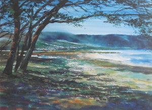 "Unknown ""Landscape Evening"" 24x32.5 Limited Edition Signed Giclee"