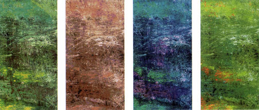 four seasons colorful fall spring winter summer abstract