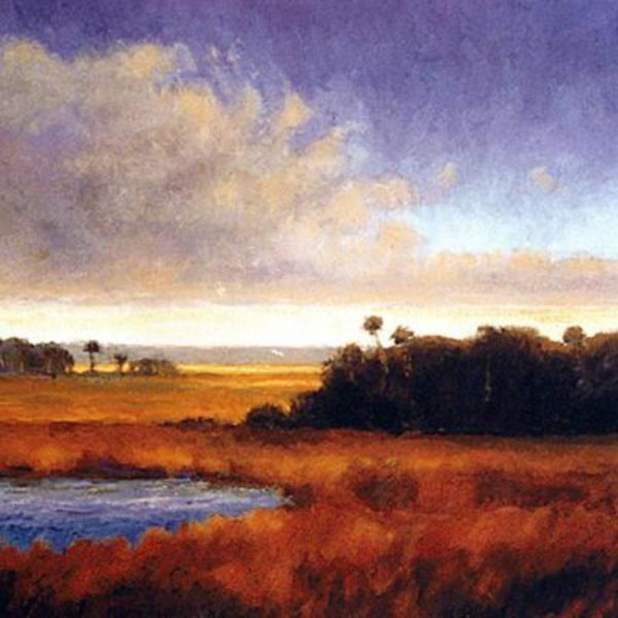 Peteer Pettegrew beautiful southern swamp marsh wetlands landscape art
