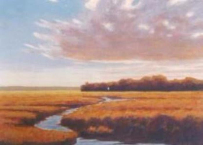 Southern Marsh silkscreen original
