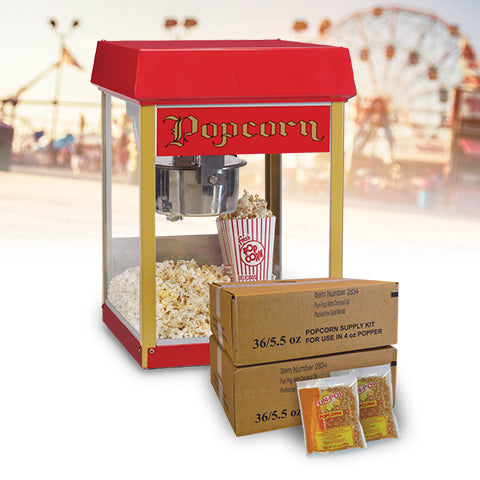 Concession Equipment Easy Starter Packages