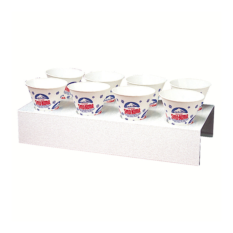 1076W 8 cup Sno Kone Counter Tray