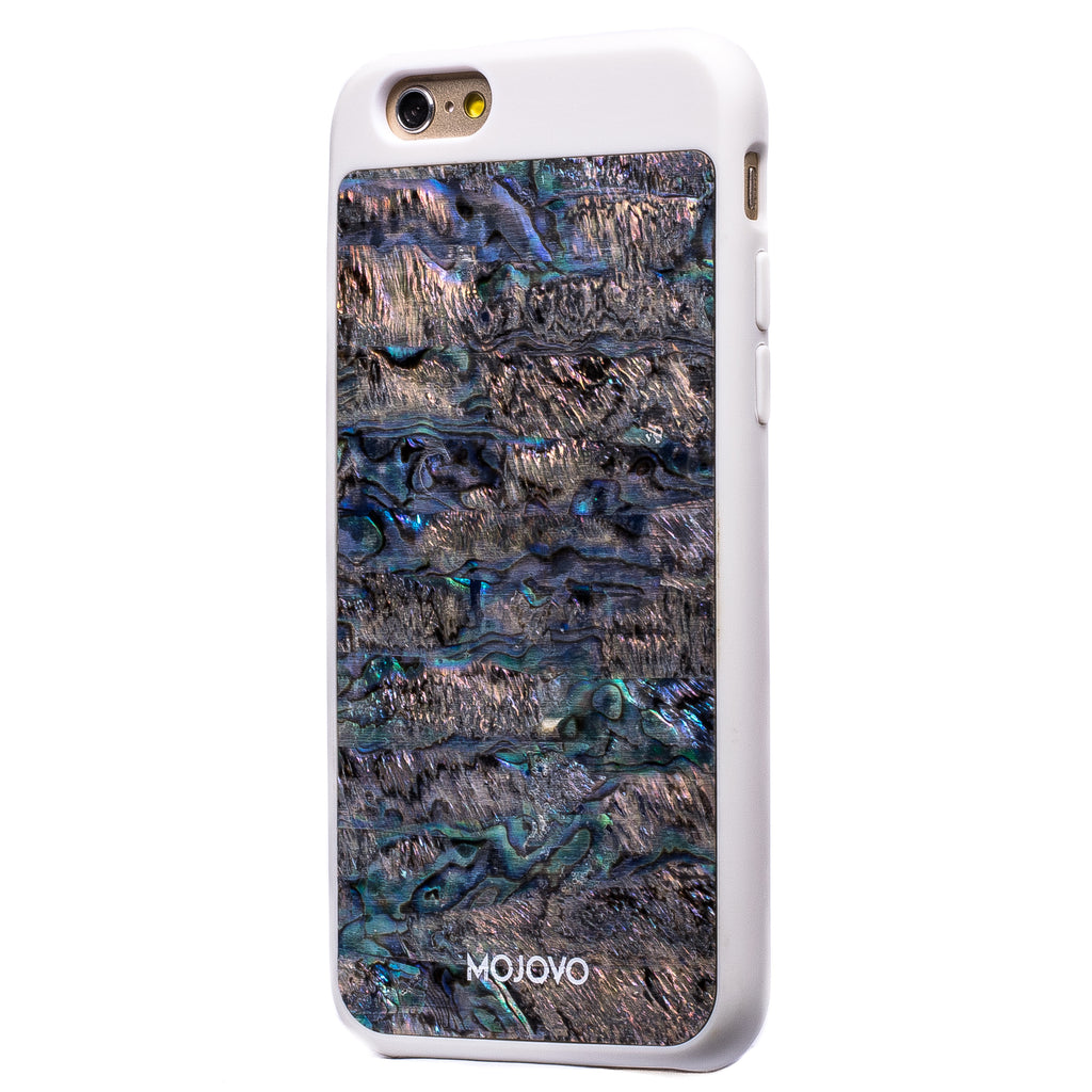 Mojovo Iridescent Deep Sea Back Case- Apple iPhone 6/6s (White Case)