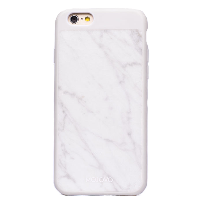 Mojovo White Marble Back Case – Apple iPhone 6/6s (White Case)