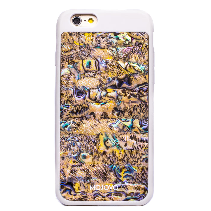 Mojovo Ocean Sands Back Case- Apple iPhone 6/6s (White Case)