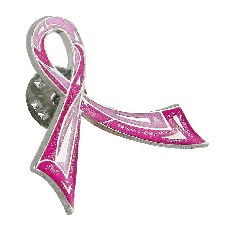Think Medical Ribbon Pin - Pink Ribbon