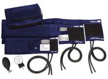3-in-1 Aneroid Sphygmomanometer Set with Carry Case * Adult, Large Adult, Pediatric - 6 Colors
