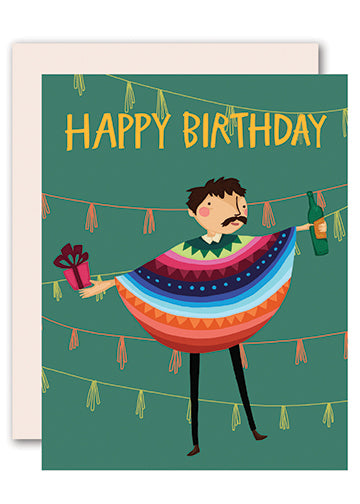 Mexican Birthday Greeting Card