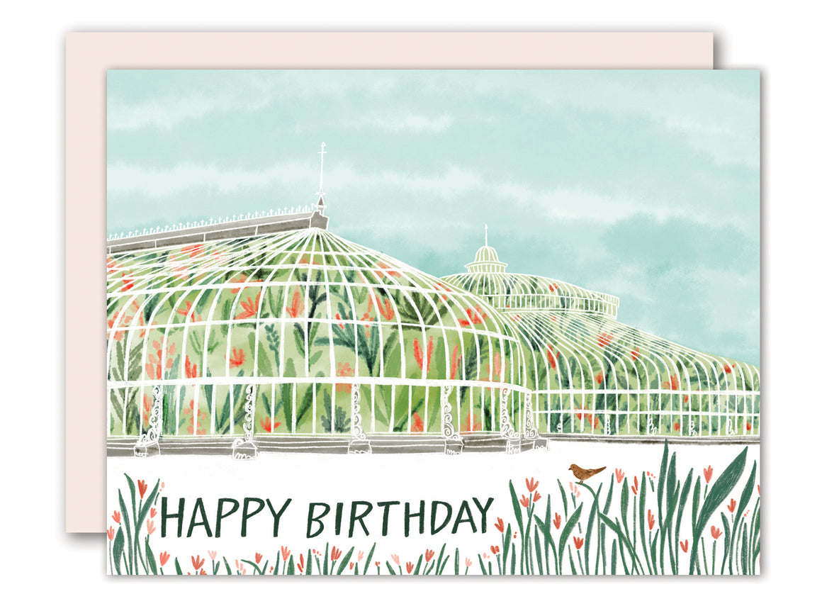 Botanics - birthday card
