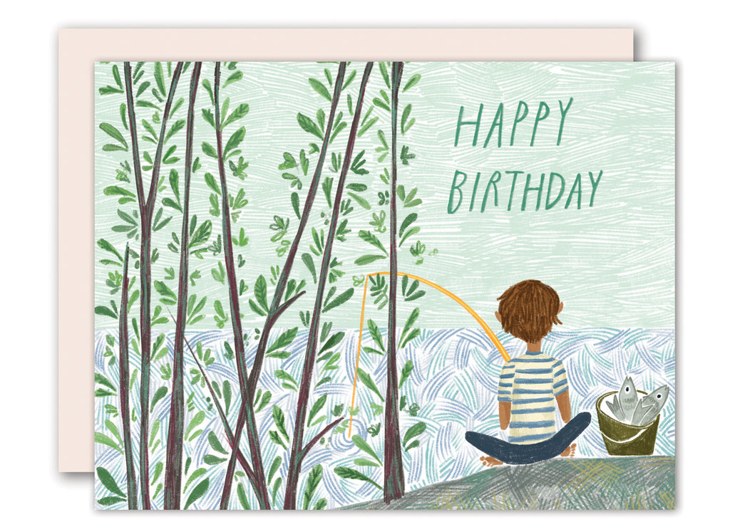 Fishing - birthday card