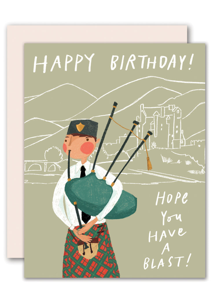 Bagpipe Birthday