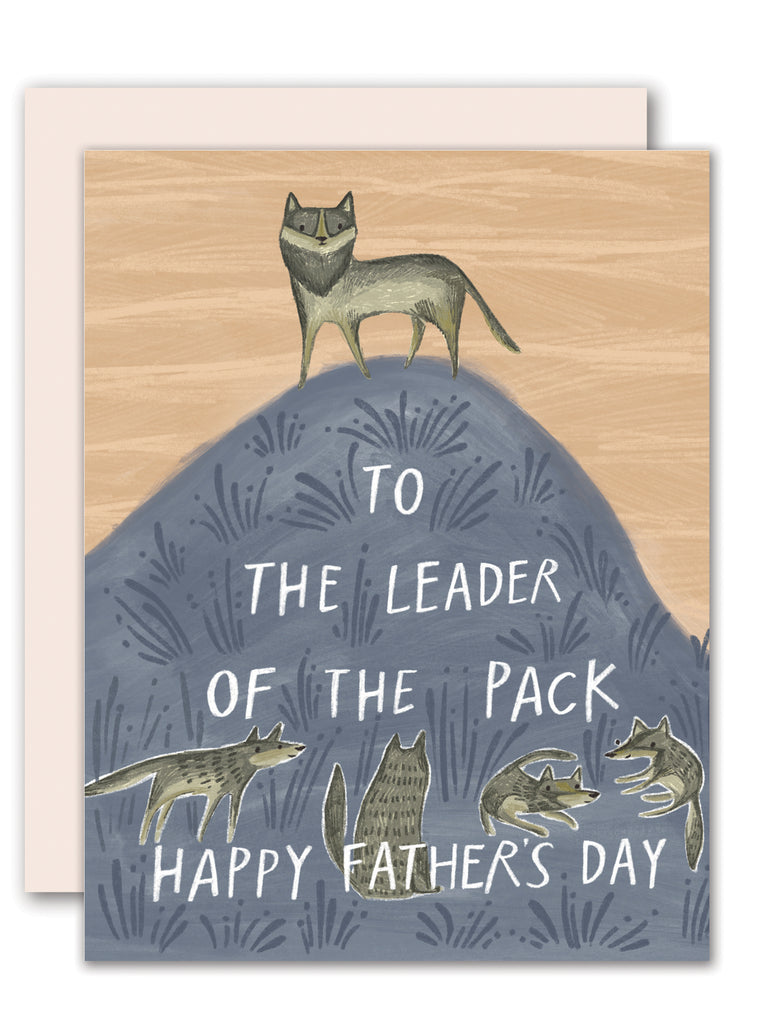 Leader of the pack - Happy Father's Day Card