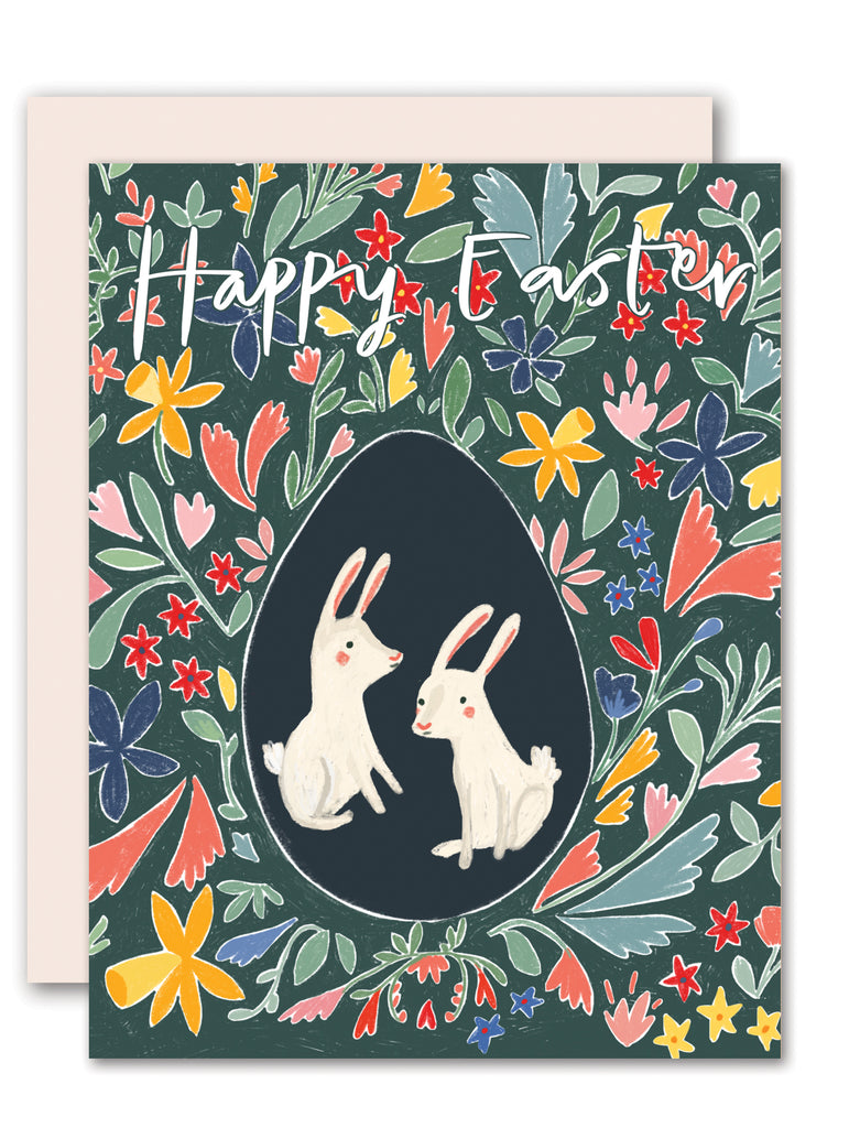 Easter bunnies - Easter card