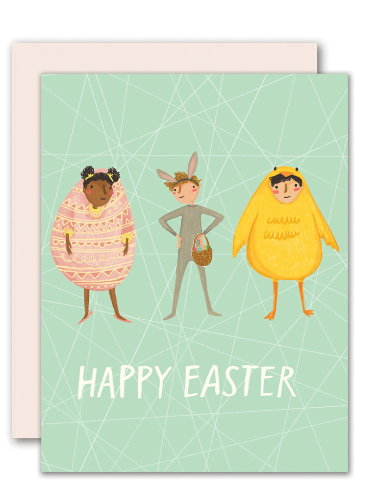 Easter dress up- Easter card