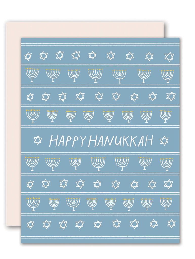Hanukkah Stars and Candles
