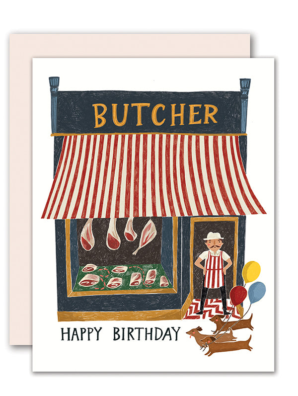 Butcher Birthday Card