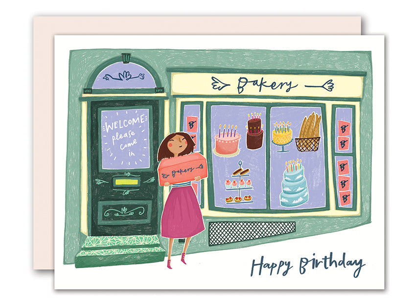 Bakery Birthday Card