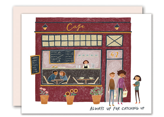 Cafe Friendship Card