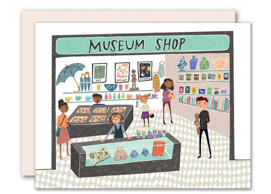 Museum Shop Friendship Card