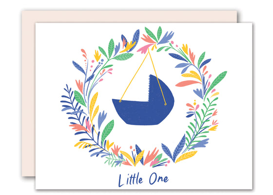 Little One -  New Baby greeting card
