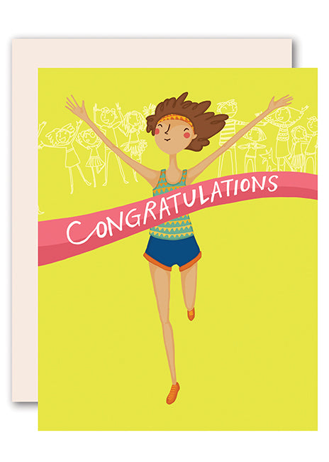 Congratulations - Runner Greeting Cards