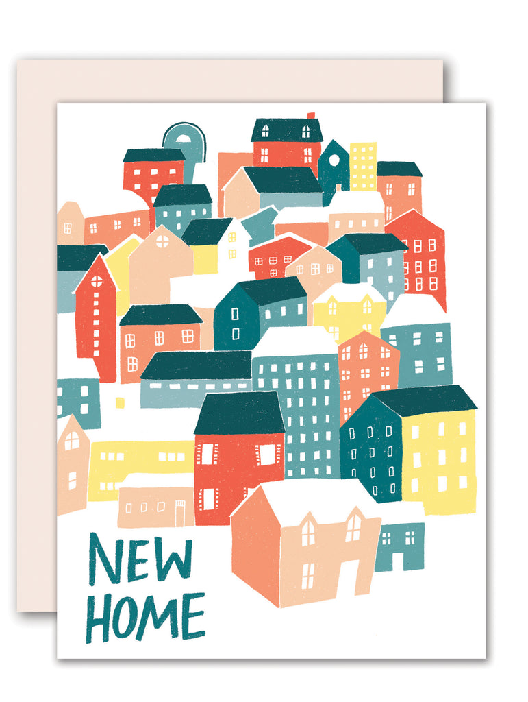 New Home Houses card