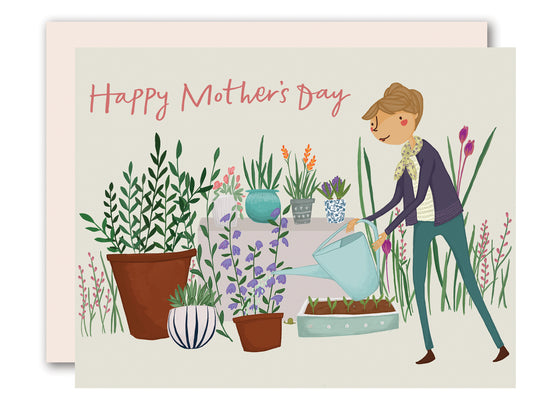 Garden Mother's Day Card