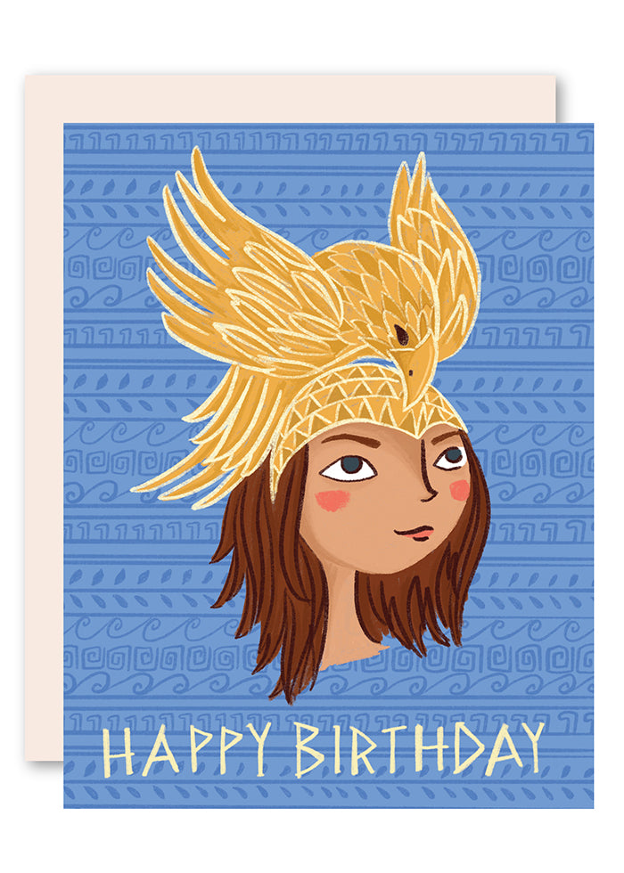 Greek Goddess Birthday Card