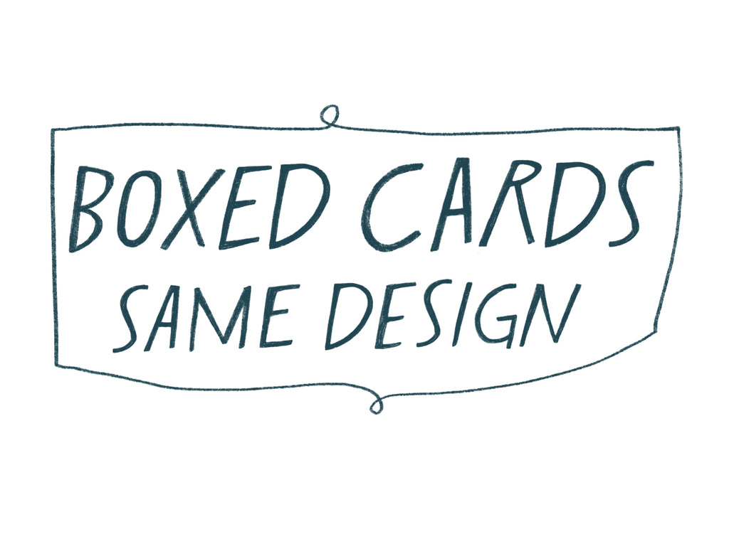 Boxed Cards - 8x same design