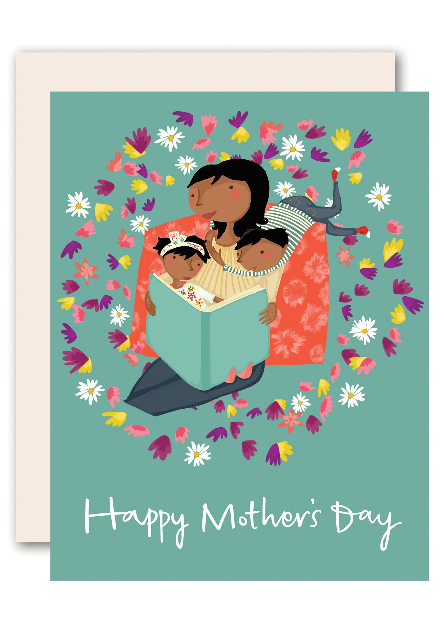reading together happy mother s day card by pencil joy