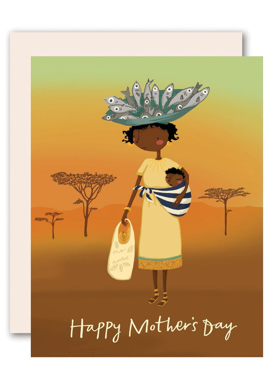 Savanna Happy Mother's Day Card