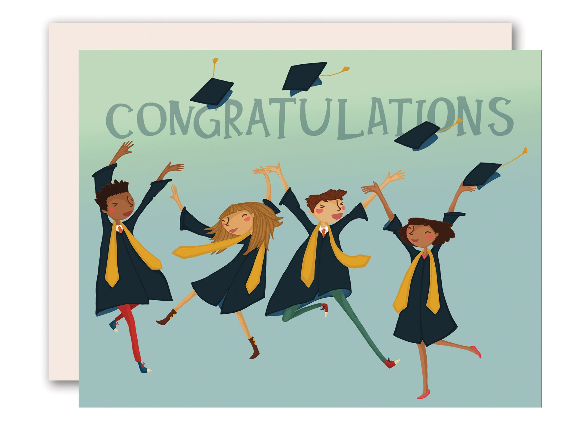 Congratulations Card For Graduation By Pencil Joy