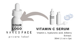 What it is  A 100% natural multifunctional Vitamin C Serum reduce the signs of aging by neutralizing free-radical and UV damage   What it does  Fights and neutralizes free-radical to help signs of premature aging and accelerating the production of collagen and elastin.  Secures moisture and creates fullness, improving its moisture content.  Result  glowing skin, youthful skin, healthier skin tone & texture, minimizes fine lines, acne scars, and complexion concern.