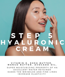 step 5 hyaluronic cream