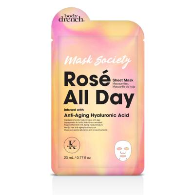 Rose All Day Anti-aging Face Sheet Mask With hyaluronic acid