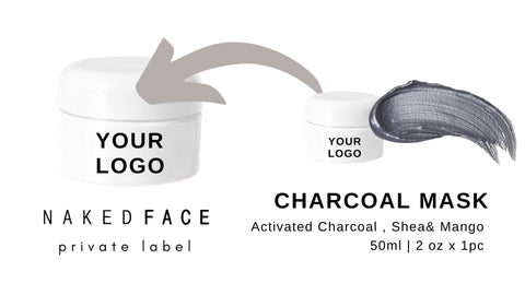 This Deep cleansing natural detoxifier charcoal mask decongests the pores and draws out superficial toxins, impurities, excess oils, and debris to reveal clear skin.   What it does  Charcoal draws bacteria , absorb excess oil and impurities from the skin and pores.  Result  healthier skin tone & texture, minimizes appearance of pores, acne scars, and complexion concern.