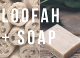 EXFOLIATING LOOFAH SOAP