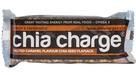 Chia Charge Flapjack - Salted Caramel