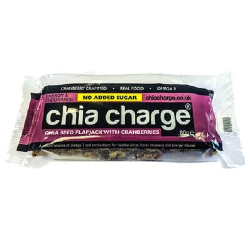 Chia Charge Flapjack - Very Berry- 80g
