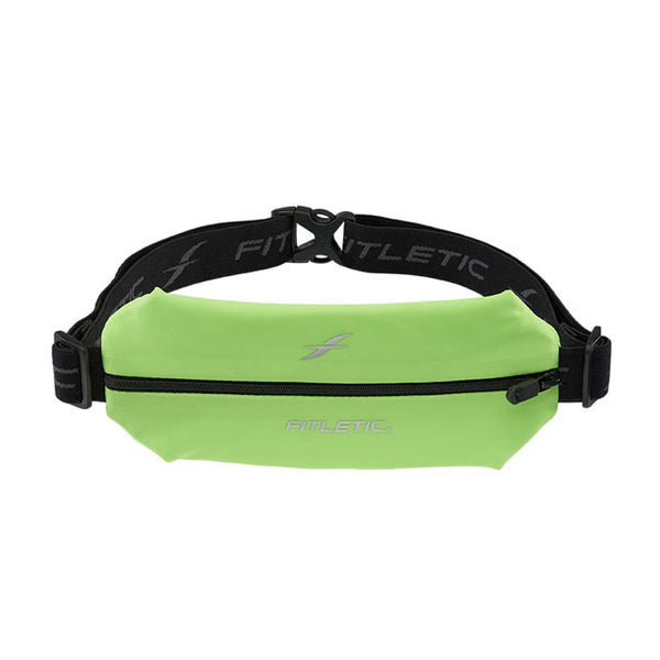 Fitletic Mini Sports Belt Runners Pouch - Neon Green